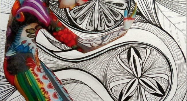 zentangle artwork ink drawing art on demand